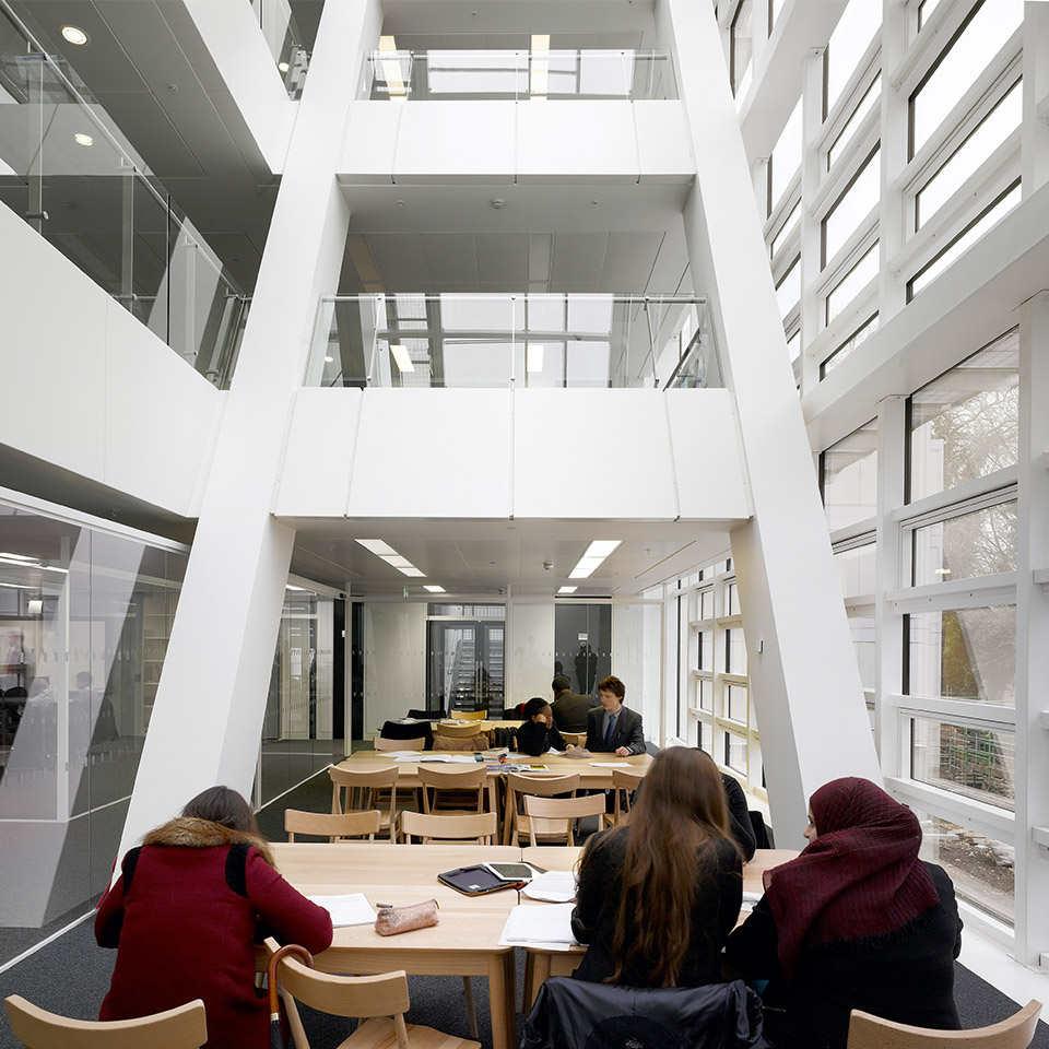 Holland Park Education Ahr Architects And Building Consultants