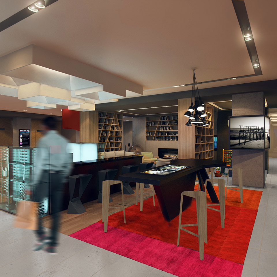 Novotel almaty hospitality ahr architects and for Office design kazakhstan